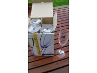 BRAND NEW Luminarc Champagne Glasses (Four)