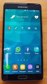 SAMSUNG GALAXY NOTE 4 32GB BLACK (UNLOCKED TO ALL NETWORKS)