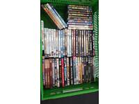 150+ assorted dvds for sale