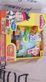 Play dough jake and the never land pirates