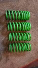 Mg tf x power eibach lowering springs