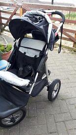Mamakiddies All terrain pushchair/buggy