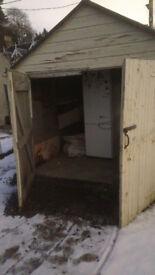 * FREE * Large wooden Shed / Garage / workshop