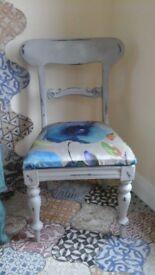 chair vintage farmhouse chalk painted