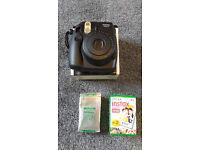 Fuji Instax Mini 8 Polaroid style instant camera and 38 sheets of film
