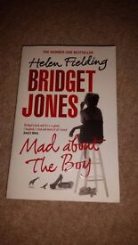 Helen Fielding collection of three fiction books/novels (paperback)