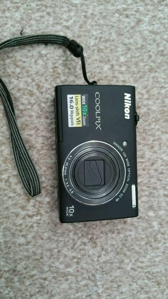Nikon digital camerain Garston, Merseyside - Nikon coolpix S6200.16 megapixels10x zoomHDMIComes with 4gb sd card and usb lead