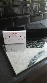 Brand new boxed wall socket safe