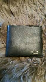Ted Baker Wallet - Black Leather