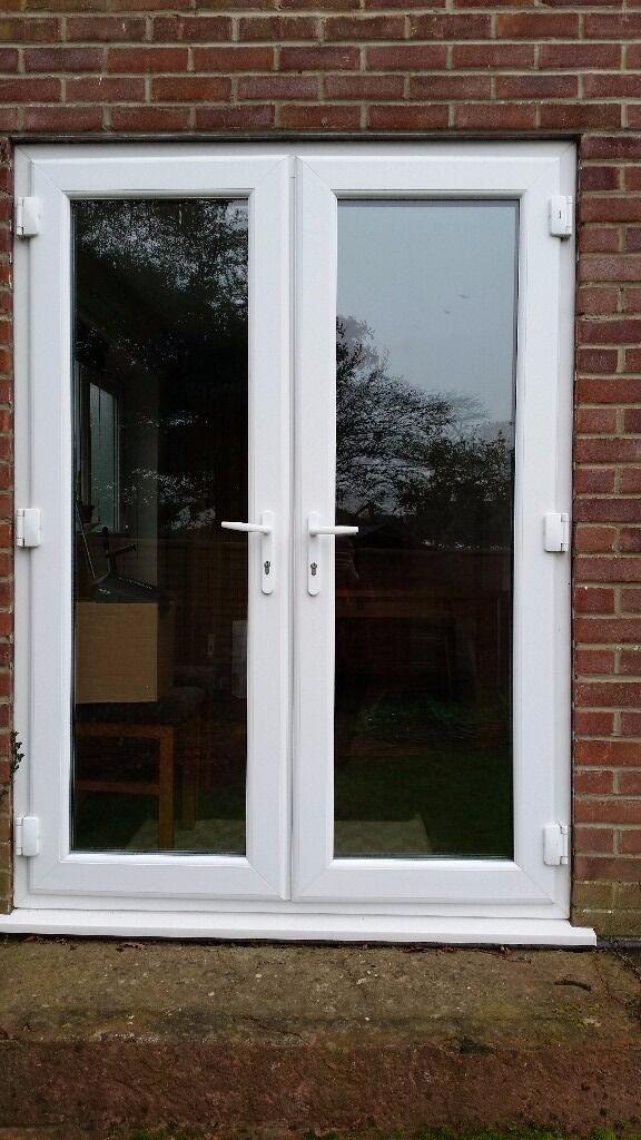 Damaged Double Glazed Patio Doors For Sale In Verwood Dorset