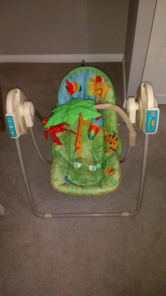 Fisher price baby swing