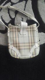 Womens shoulder burberry bag