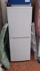 Fridge freezer .white upright .