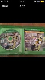 X box one Fifa 17 deluxe game