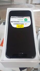 IPHONE 6 PLUS 128GB VERY GOOD CONDITION UNLOCKED BOXED