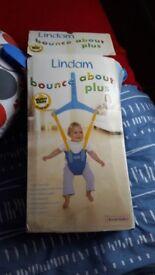 Baby bath , bath seat , nursing pillow , door bouncer , babyborn bouncy chair .