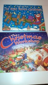 2 Children's hardback Christmas pop up children's books