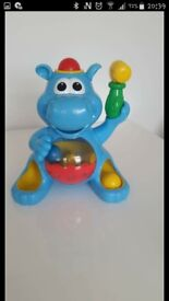 Lights n sound popping hippo. *perfect condition*