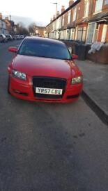 2007 AUDI A3 1.6 SPECIAL EDITION CAT D DAMAGED SALVAGE SPARES OR REPAIRS