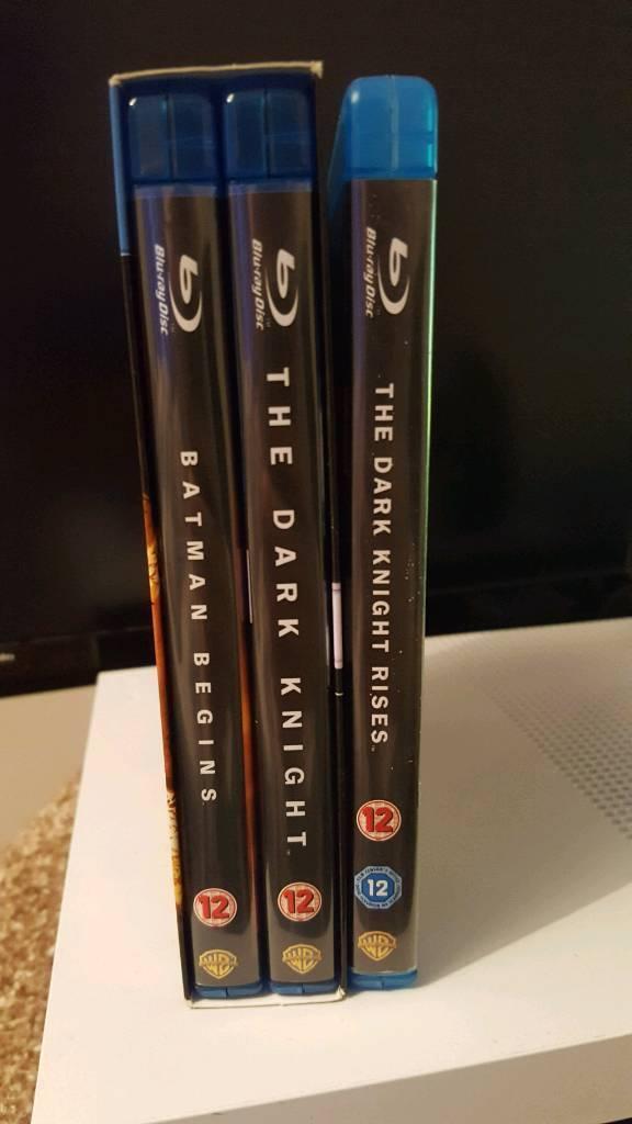 Blu-ray Batman dark knight trilogy