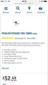 Thermostatic mixer valve - new