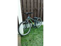 "Boys 24 "" apollo bike like new can deliver for a small charge"