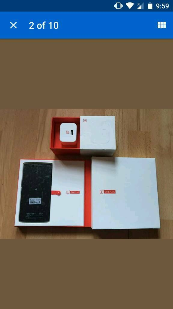 One Plus Onein Gabalfa, CardiffGumtree - One Plus One 16GBUnlockedBoxedVery Food ConditionScreen Protector Since NewSelling Due To UpgradeEmail or Text