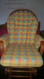 Dutailier glider nursing chair