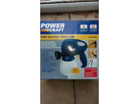 Powercraft Electric Spray gun. New