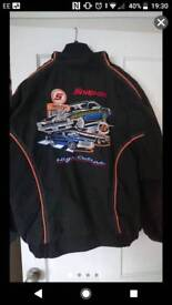 Snap on muscle car coat