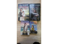 4 Val Wood books