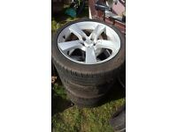"""Alloy Whells 18"""" with good tires Mazda 5x114.3"""