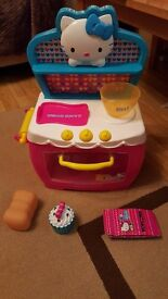 Hello Kitty Toy Cooker