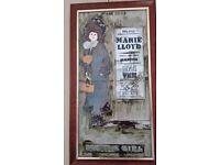Maw & Co Tubelined Majolica Framed Painted Tile