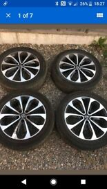 18inch nissan quashqi wheels , set of 4 ,all 4wheels for £250