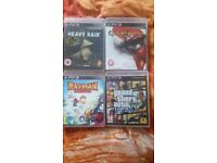 PS3 GAMES / £10 EACH OR £30 FOR ALL OF THE GAMES / OR SWAPS