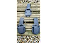 Car seat adapters for pushchair