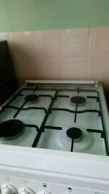 Beko 50cm white gas cooker
