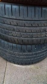 19 and 17 tyres for sale