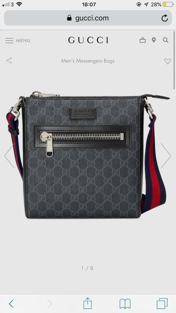 48d7add15 Gucci messenger bag | in Fulham, London | Gumtree