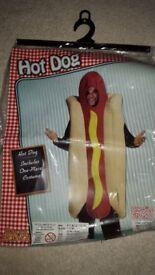 Hot Dog Fancy Dress Costume