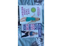 Charlotte Crosby and Holly Hagan weight loss books