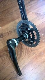 shimano deore cranks and bottom bracket