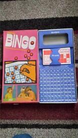 Spares......Vintage Berwick Bingo game