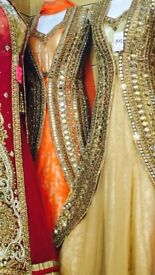 Asian wedding dress suit for party / occasion size 8