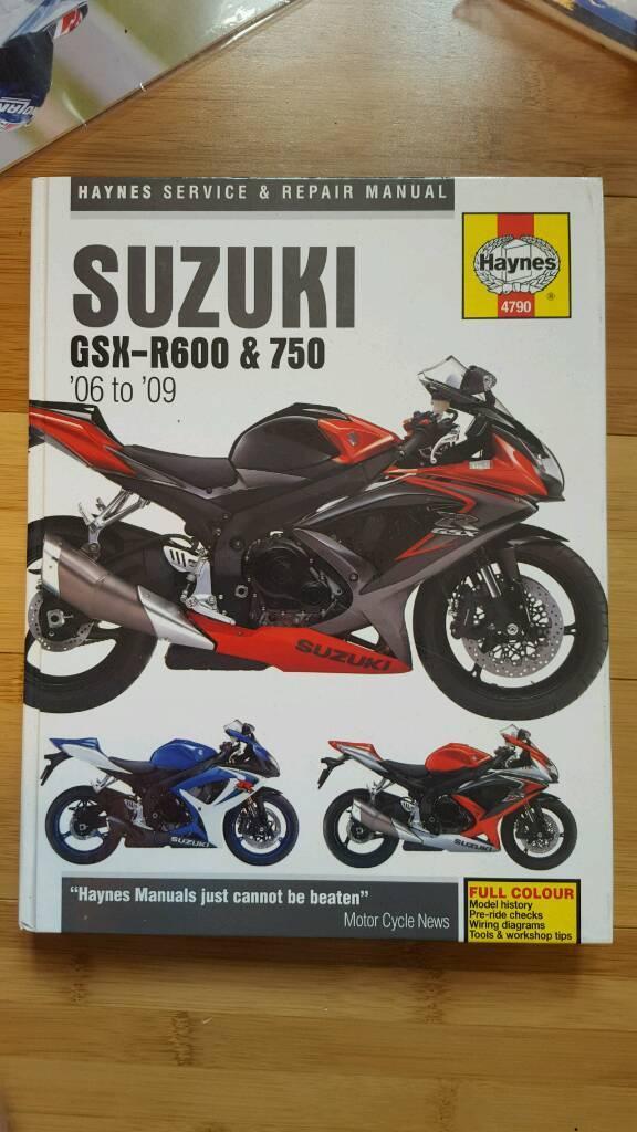 Suzuki GSX-R600 -750 (K6 , K7, K8 , K9)