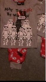 StarWars pjs (xmas eve pyjamas) NEW