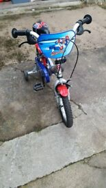 Apollo Childs bycicle suitable for 3-5 year old