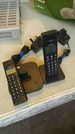 3 binatone house phones