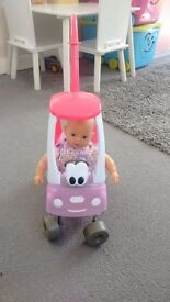 Baby born and cosy coupe set